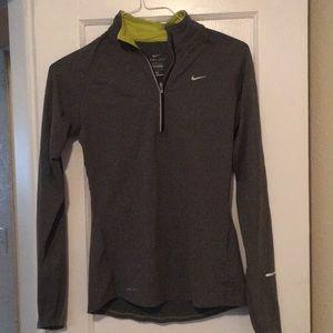 Nike Dri-Fit long sleeve half zip running shirt